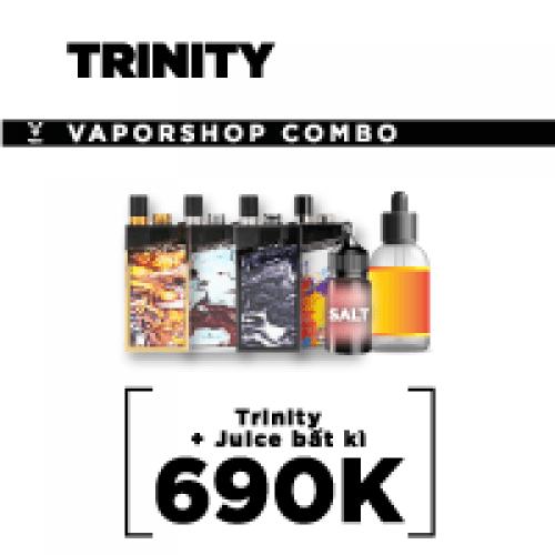 COMBO TRINITY + JUICE BẤT KÌ