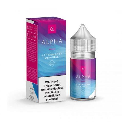 Alpha by Alternativ Salt Nic 30Ml