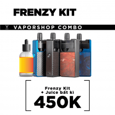 COMBO FRENZY KIT + JUICE SALT BẤT KÌ