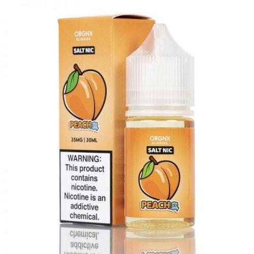 Peach Ice SALT NIC By ORGNX ELIQUIDS 30Ml