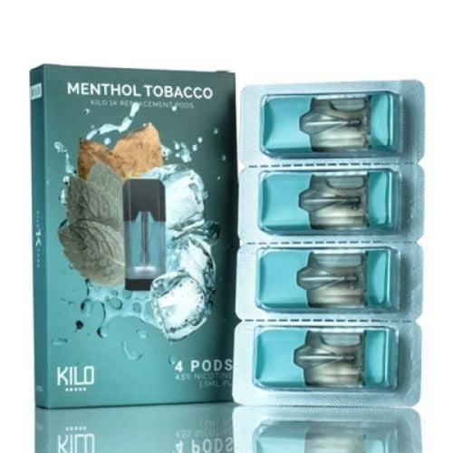Kilo 1K Pod Menthol Tobacco chính hãng giá rẻ nhất tp hcm