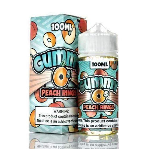 Peach Rings By Gummy Os ELiquid 100Ml