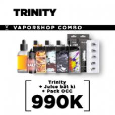 COMBO TRINITY + JUICE BẤT KÌ + PACK OCC